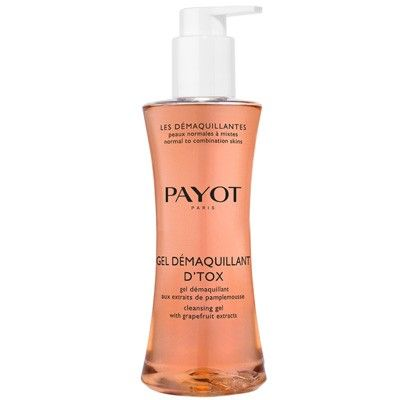A purifying cleansing foam formulated for skin prone to shine and imperfections. With a detoxifying cocktail of ingredients, including Grapefruit extract, Payot Gel Demaquillant D'Tox works to clear excess sebum, blemishes and pollutants, rinsing easily for a fresh, mattified complexion.