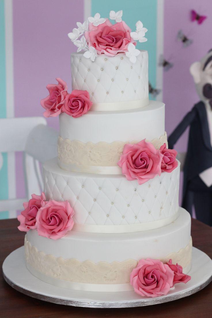 Die besten 25 Hochzeitstorten Ideen auf Pinterest  1stckige hochzeitstorte Hochzeitstorte