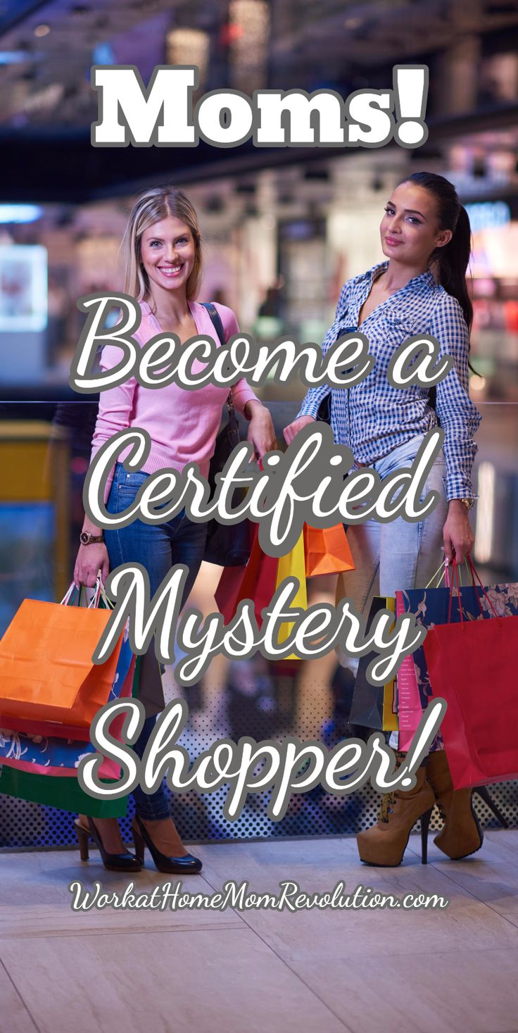 Moms! Become a Certified Mystery Shopper! Become a certified mystery shopper with ShadowShopper! ShadowShopper has relationships with thousands of mystery shopping companies, so they can connect you with mystery shops in your own hometown or city! Super way to make money from home! #Workfromhome #MakeMoney WorkatHomeMomRevolution.com