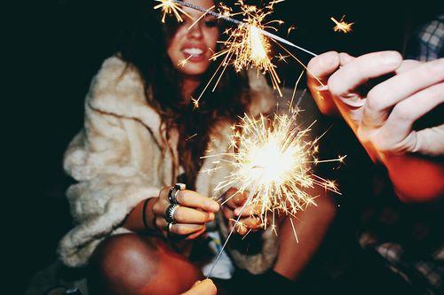 We love sparklers! #nye #2014 #DavidDeans