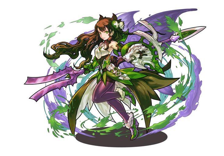 초록가시의 여신 발키리 엘리제