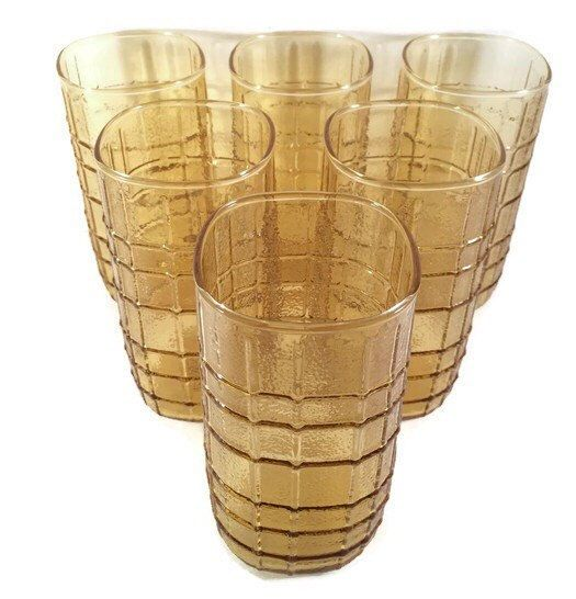 Check out Vintage Anchor Hocking Drinkware - Honey Gold Square 16 oz Tumbler Set of 6 Honey Gold Square Tumbler in my Etsy shop today!⚡️ https://www.etsy.com/listing/449289434/vintage-anchor-hocking-drinkware-honey?utm_campaign=crowdfire&utm_content=crowdfire&utm_medium=social&utm_source=pinterest