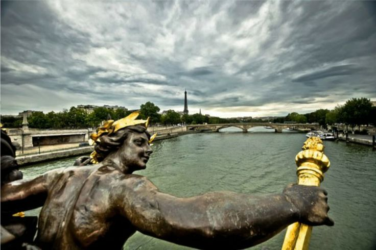 """Print """"Pont Alexandre 3"""" http://www.artfoyer.ro/pont-alexandre-3.html"""