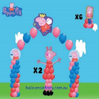 peppa pig balloons - Buscar con Google