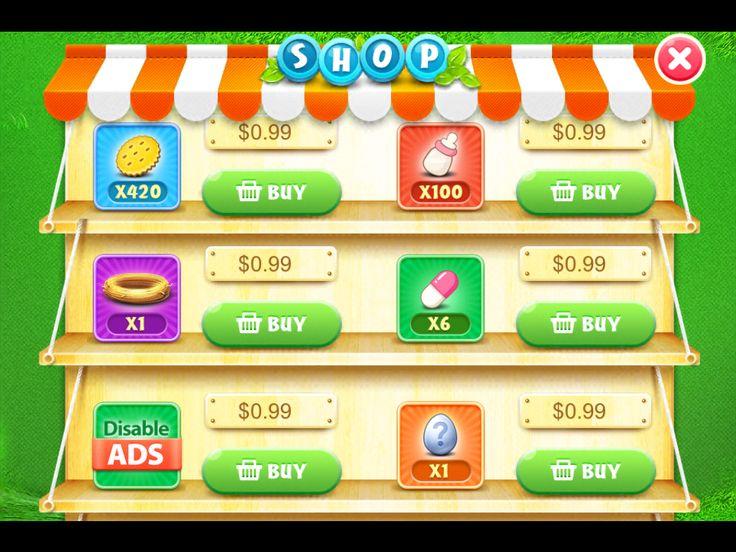 CarrotFantasy - mobile games UI/UX design, mobile games patterns ...