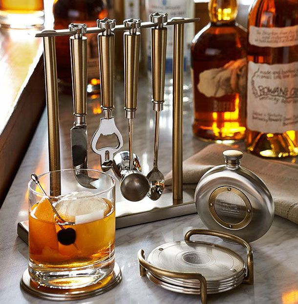 Let him be the mixologist.