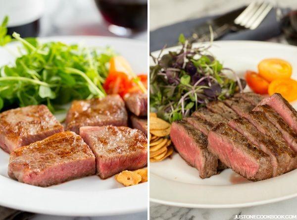 Wagyu Beef vs. American Kobe Beef | Steak Recipe | Just One Cookbook