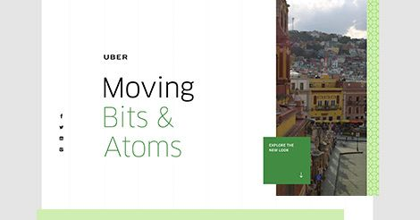 Bits + Atoms: The idea at the heart of Uber—using technology to move the physical world.