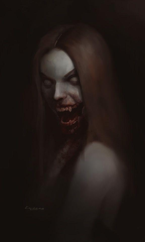 Vampire by kolokas.deviantart.com on @DeviantArt