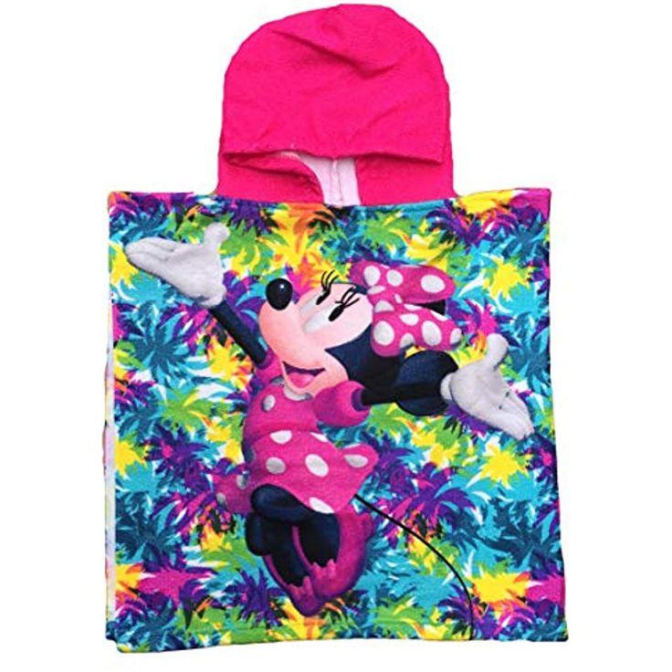 Disney Mädchen Bademantel Minnie Mouse