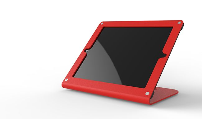 Heckler Design has released its newest iPad point-of-sale system, the WindFall C. The WindFall C is an iPad stand designed to offer compatibility with numerous card readers, including PayPal Here.  Unlike the Square Stand, which comes with a built-in card reader, the WindFall C was instead designed to leave plenty of room for retailers' card-readers of choice. The most popular options are supported, including the Square Reader, Intuit's GoPayment, ShopKeep, and Groupon's Breadcrumb.