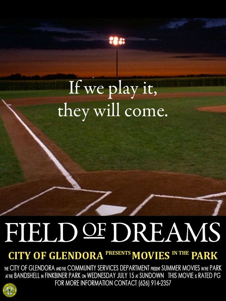 2015 Summer Movie in the Park | Field of Dreams