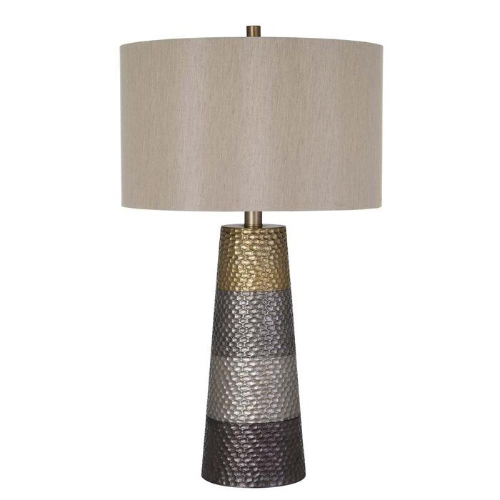 Clement 31 5 Gold Gray Table Lamp In 2021 Lamp Table Lamp Grey Table Lamps