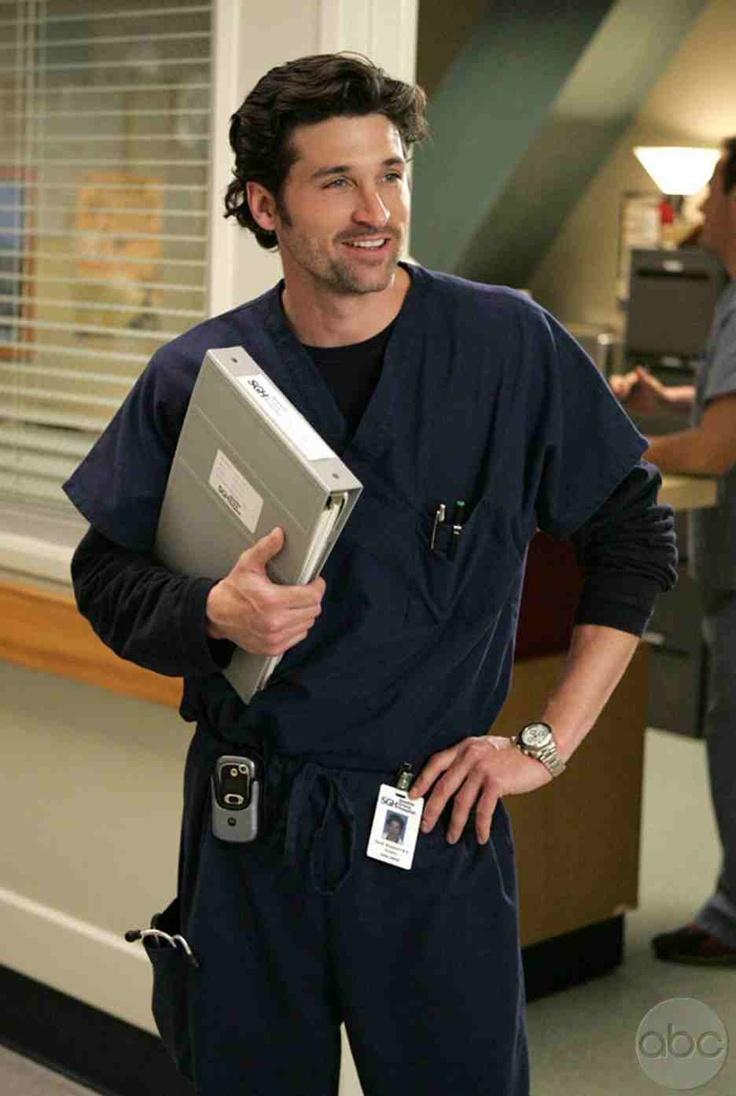Dr. McDreamy-Greys Anatomy.... Makes me wanna become a med-surg nurse lol