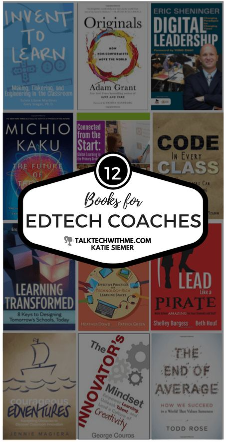 12 Book Recommendations for EdTech Coaches