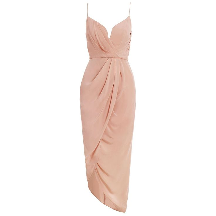 I'm so attracted to this dress. So classy yet seductive. Imagine if it were red!