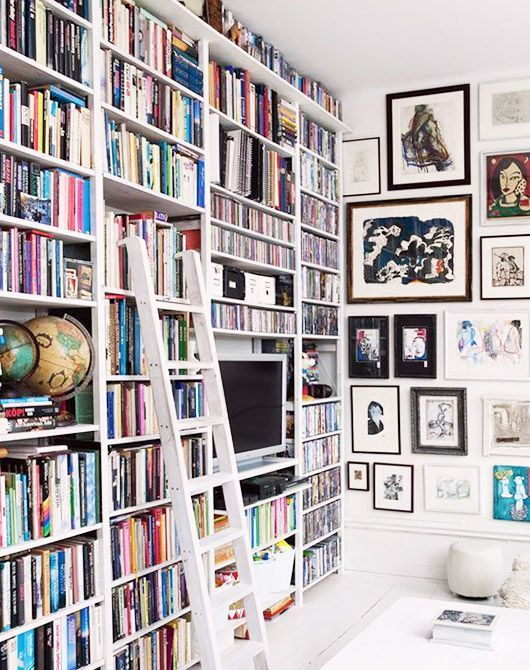 86 Best Images About Home Library On Pinterest Shelves