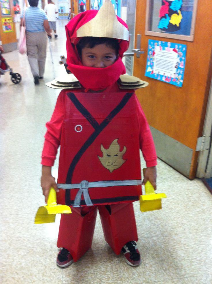 Home made Ninjago costume.