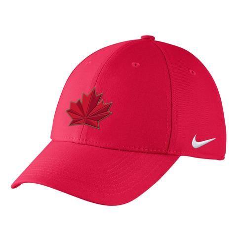 Team Canada Nike 2018 Olympic Swooshflex - Red