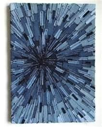 Blue jean decor idea