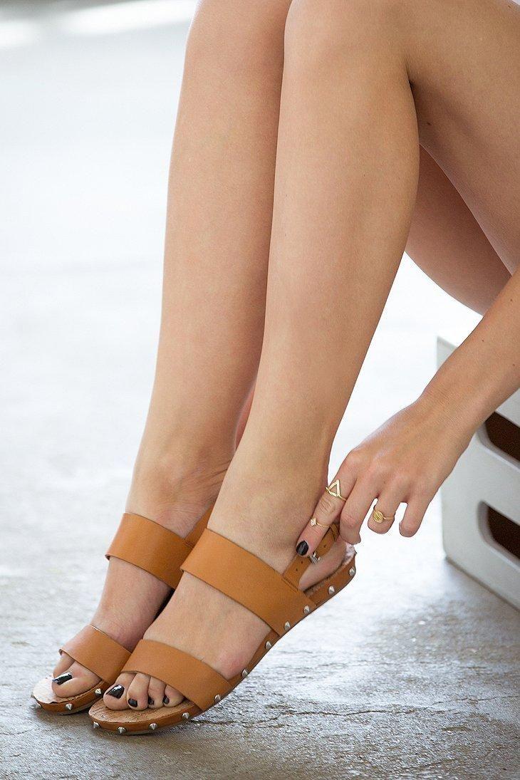 Dolce Vita Bodhi Studded Slingback Sandal #urbanoutfitters