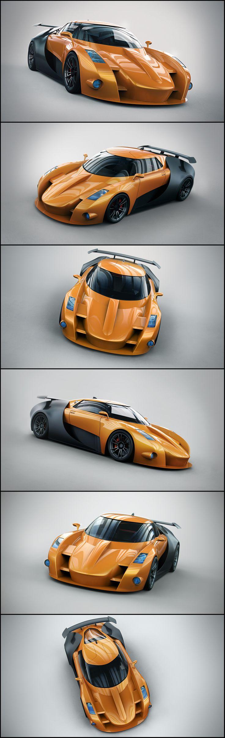 Car Concept by Aleksandr Kuskov, Ukraine