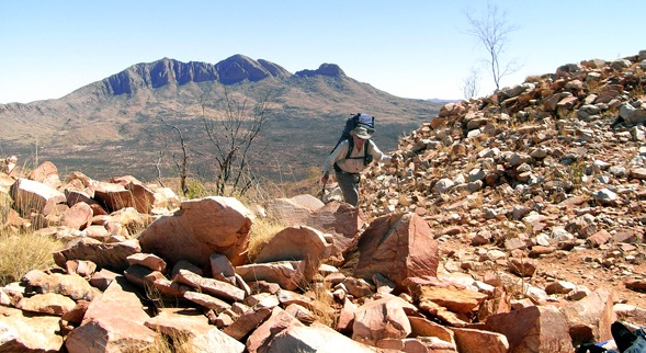 Australia's Larapinta Trail, a 130-mile trek through the Northern Territory, is almost entirely through the desert. Book your trip today by calling Maupintour at 877-874-7776 or visit www.maupintour.com.