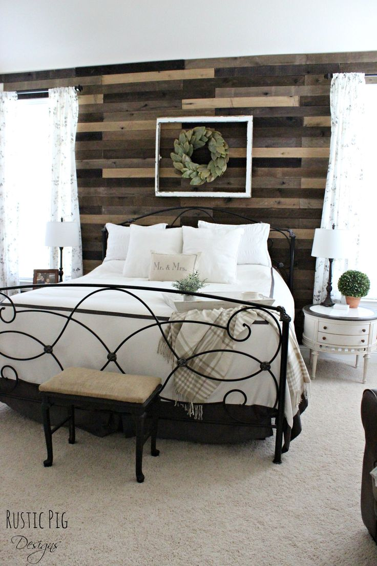 bedroom wall furniture. master bedroom pallet wall the rustic pig furniture p