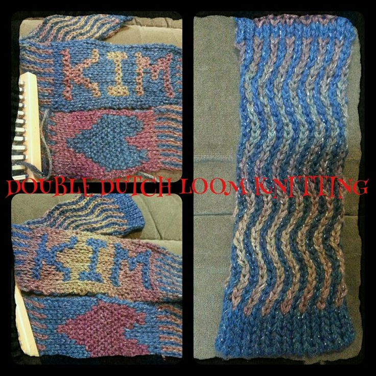 Loom Knitting Stitch Names : 20 best images about Double Dutch Loom Knitting on Pinterest The ojays...