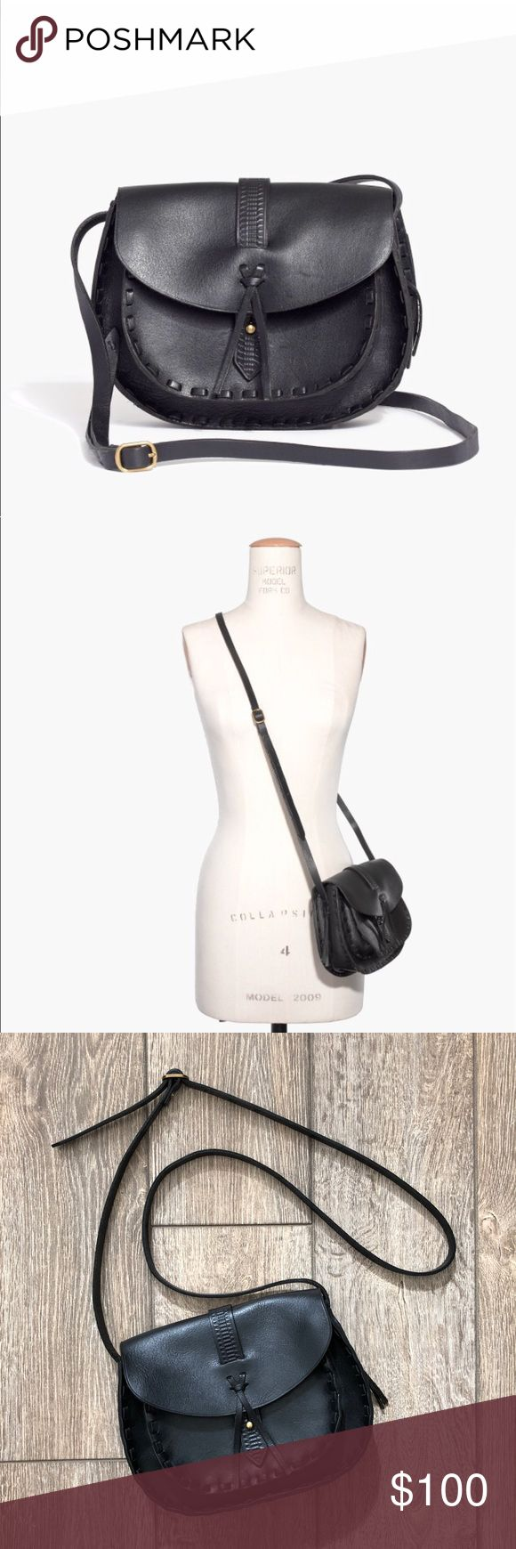 Madewell the asheville saddlebag Pristine condition. Listed because i purchased another similar madewell bag because i wanted something a little bigger. Style# F2132. Price firm. Madewell Bags Crossbody Bags