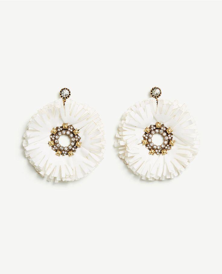 Raffia Drop Earrings