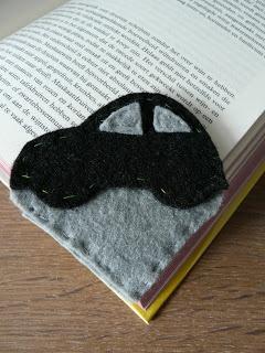 Boekenlegger auto