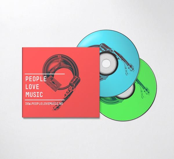People Love Music: Bruneau Office, Album Covers, People 20Love 20Music 20Ident, Color, Graphics Design Inspiration, Music Identity, Identity Design, Bureaubruneau, Music Coverdesign