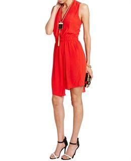 Asym Wrap Dress