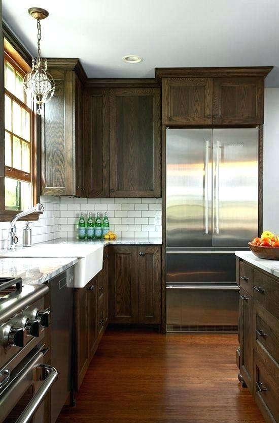 Staining Kitchen Cabinets Darker Design