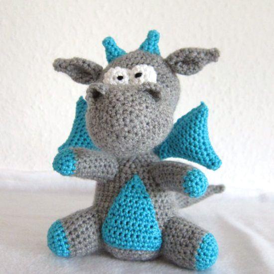 Fierce Little Dragon Amigurumi Pattern : Best 25+ Crochet Dragon Pattern ideas on Pinterest ...