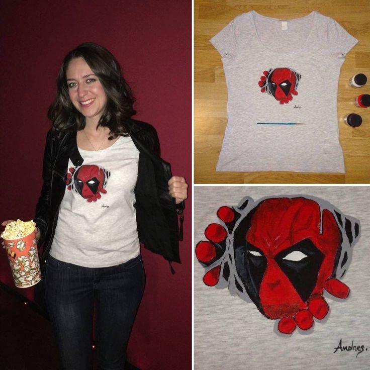 Ți-a plăcut Deadpool? Ce zici de un tricou pictat?  Sau poate vrei un tricou pentru următorul film cu supereroi: Superman vs. Batman, Captain America, Avengers... tu alegi!   Vezi aici tricourile pictate: https://www.facebook.com/media/set/?set=a.917746341645164.1073741834.898115413608257&type=3 și spune-ne ce ți-ar plăcea să pictăm pentru tine!  Andres