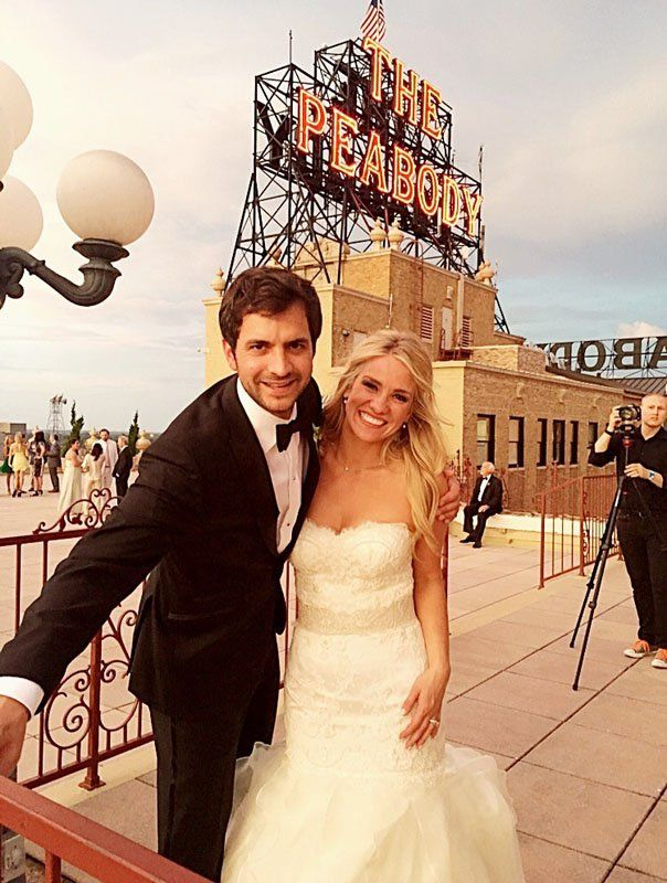 """Great Memphis Weddings of 2016: The Hill-Tashie Wedding   While Rebekah Tashie was telling me about her wedding, I kept thinking of the famous Robert Burns quote, """"the best-laid plans of mice and men often go awry… ."""" Meanwhile Pam Hill, the bride's mother, was convinced that the wedding was never really in earthly hands..."""