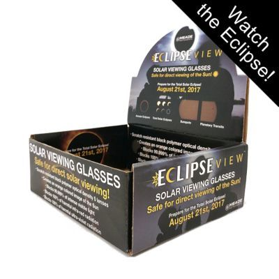Meade EclipseView Solar Eclipse Glasses, 20-Pack