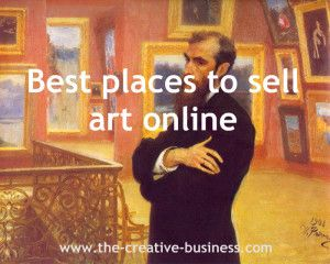 Best places to sell art online www.the-creative-business.com