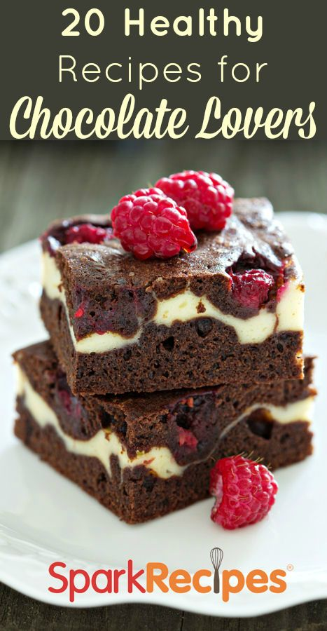 designer shop 20 Recipes for Chocolate Lovers