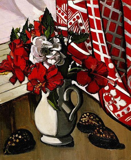Margaret Preston  Double Hibiscus   1929