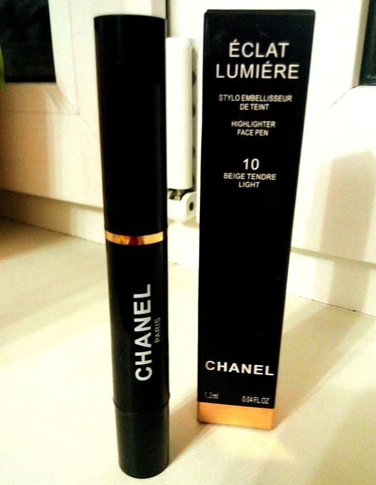 CHANEL Éclat Lumière Face Highlighter Pen 10 Beige Tendre  #CHANEL