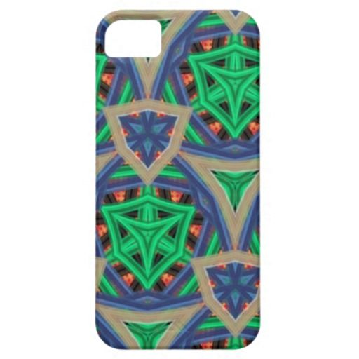 Colorful trendy pattern iPhone 5 covers
