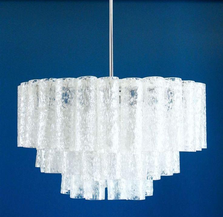 Lámpara chandelier de techo Doria, vintage años 60s. de elNidosingular en Etsy
