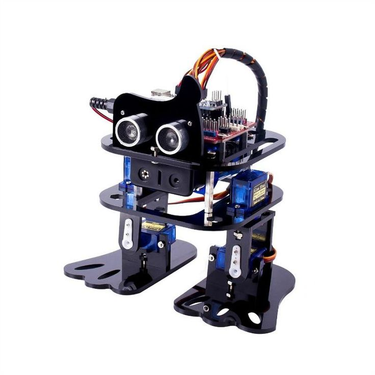 SunFounder DIY 4DOF Robot Kit Program Learning Kit for Arduino Nano Sale - Banggood.com