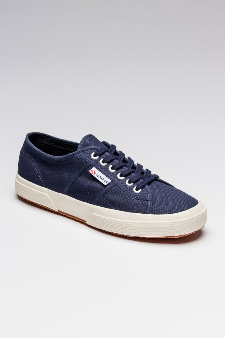2750 Classic Sneaker / by Superga: Fashion, Fabulous Footwear, Complex Life, Navy Superga, Shoes Awesome