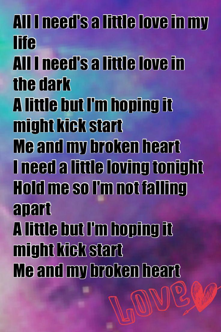 Broken Heart Quotes Song Lyrics Me and my broken heart rixton song lyrics