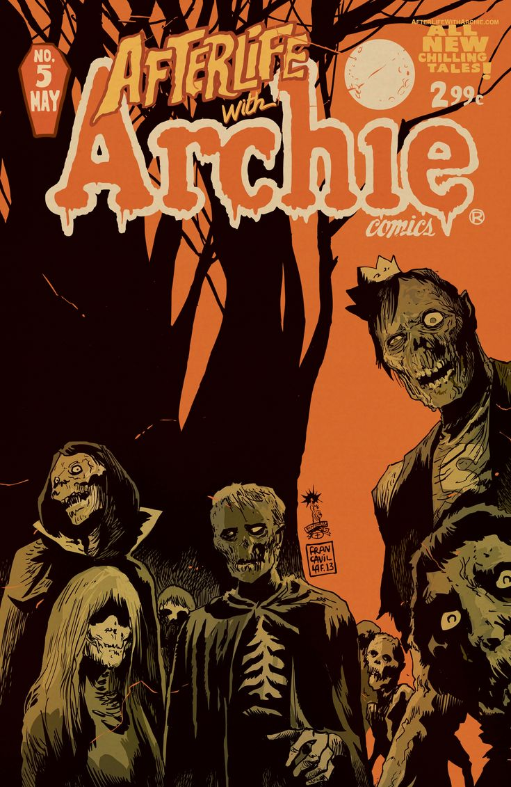 """Review: """"Afterlife With Archie"""""""