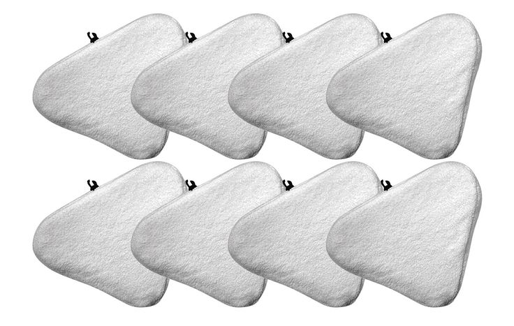 8 Bissell Steam Mop Pads Fit Select Hard Surface Cleaner 94E9T(A) | Part # 76B2A